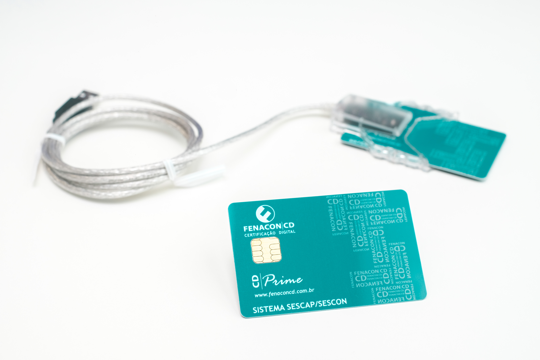e-CNPJ  A3 2 Anos em Cartão com Leitora