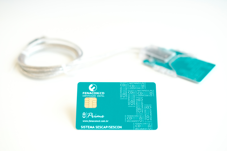 e-CNPJ  A3 9 meses com Cartão e Leitora
