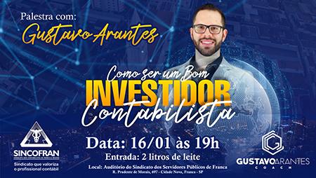 Palestra com Gustavo Arantes