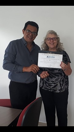 Dra Edna Maria Campanhol - História de Superação e orgulho de nossa categoria.