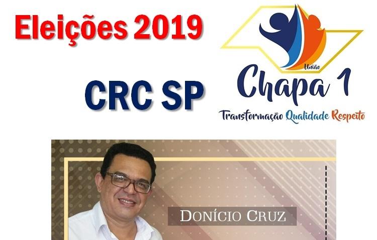 Presidente do SINCOFRAN apoio Chapa 1 para o CRC SP