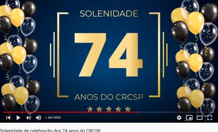 CRC/SP Comemora 74 anos de sua fundação.