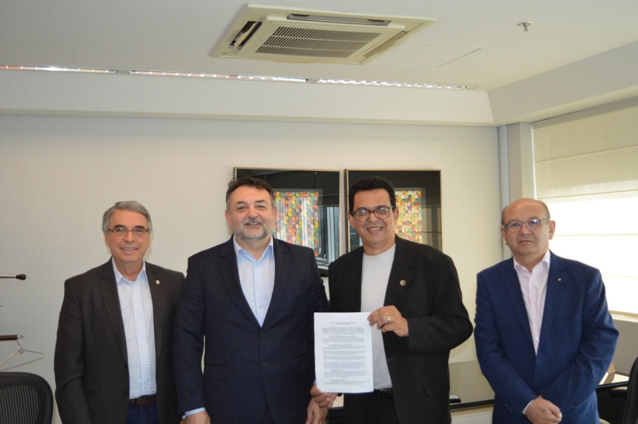SINCOFRAN assina convenção com SESCON/SP para vigorar no período de 2019/2020.